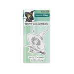 Penny Black - Halloween - Cling Mounted Rubber Stamps - Little Witchy
