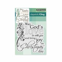 Penny Black - Christmas - Cling Mounted Rubber Stamps - Heavenly Love