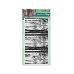 Penny Black - Christmas - Cling Mounted Rubber Stamps - Snowy Grove
