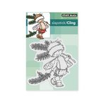 Penny Black - Christmas - Cling Mounted Rubber Stamps - Pine Sprite