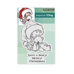 Penny Black - Christmas - Cling Mounted Rubber Stamps - Berry Merry