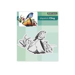 Penny Black - Cling Mounted Rubber Stamps - Pretty Perch