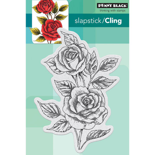 Penny Black - Cling Mounted Rubber Stamps - Scented Beauty
