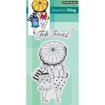 Penny Black - Cling Mounted Rubber Stamps - Fab Friend