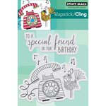 Penny Black - Cling Mounted Rubber Stamps - Birthday Tweetings