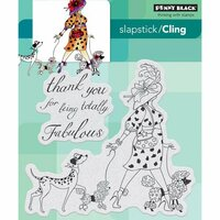 Penny Black - Cling Mounted Rubber Stamps - Totally Fabulous