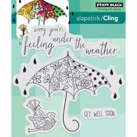 Penny Black - Cling Mounted Rubber Stamps - Feel Well