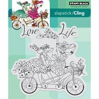 Penny Black - Cling Mounted Rubber Stamps - Love Life