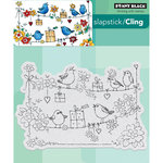 Penny Black - Cling Mounted Rubber Stamps - Cheery Chirps