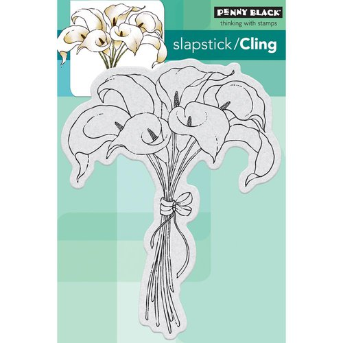 Penny Black - Cling Mounted Rubber Stamps - Elegance