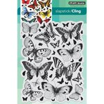 Penny Black - Cling Mounted Rubber Stamps - Butterfly Charmer