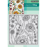 Penny Black - Cling Mounted Rubber Stamps - Flower Box