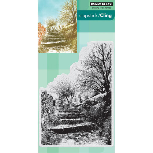 Penny Black - Cling Mounted Rubber Stamps - Terraced Lane