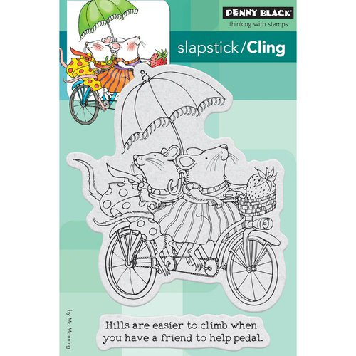 Penny Black - Cling Mounted Rubber Stamps - Tandem