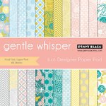 Penny Black - 6 x 6 Paper Pad - Gentle Whisper