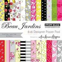 Penny Black - 6 x 6 Paper Pad - Beau Jardins