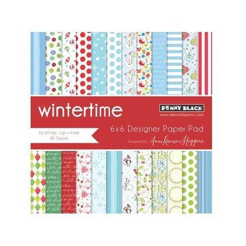 Penny Black - 6 x 6 Paper Pad - Wintertime