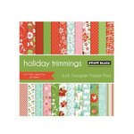 Penny Black - Christmas - 6 x 6 Paper Pad - Holiday Trimmings