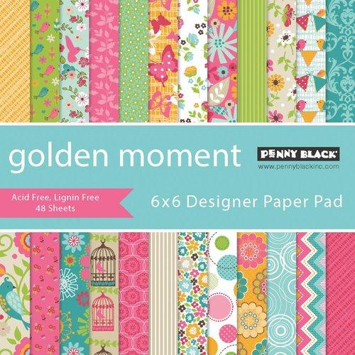 Penny Black - 6 x 6 Paper Pad - Golden Moment