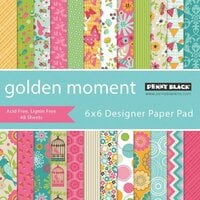 Penny Black - 6 x 6 Paper Pad - Golden Moment