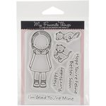 My Favorite Things - Pure Innocence - Clear Acrylic Stamps - Feline Better