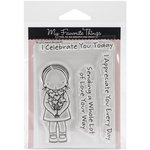 My Favorite Things - Pure Innocence - Clear Acrylic Stamps - Heart Bouquet