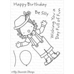 My Favorite Things - Pure Innocence - Clear Acrylic Stamps - Clowning Around