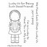 My Favorite Things - Pure Innocence - Clear Acrylic Stamps - Lucky Us