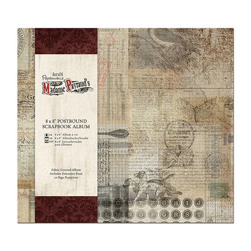 DoCrafts - Papermania - Madame Payrauds Collection - 8 x 8 Postbound Album