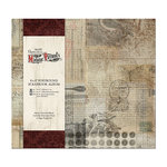 DoCrafts - Papermania - Madame Payrauds Collection - 8 x 8 Postbound Album