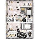 Docrafts - Papermania - Capsule Collection - Geometric Mono - Scrapbook Kit