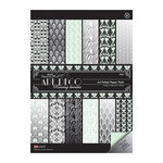 DoCrafts - Papermania - Art Deco Collection - A4 Paper Pack with Foil Accents