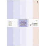 DoCrafts - Papermania - Capsule Collection - French Lavender - A4 Cardstock Pack