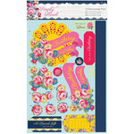 DoCrafts - Papermania - Capsule Collection - Simply Floral - A4 Decoupage Pack - Bright Blooms