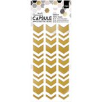 Docrafts - Papermania - Capsule Collection - Geometric Mono - Adhesive Mirror Shapes