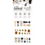 Docrafts - Papermania - Capsule Collection - Geometric Mono - Embellishments