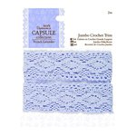 DoCrafts - Papermania - Capsule Collection - French Lavender - Jumbo Crochet Trim