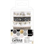 Docrafts - Papermania - Capsule Collection - Geometric Mono - Ribbon