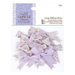 DoCrafts - Papermania - Capsule Collection - French Lavender - Large Ribbon Bows