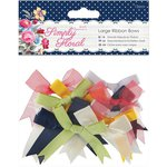 Docrafts - Papermania - Capsule Collection - Simply Floral - Ribbon Bows