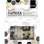 Docrafts - Papermania - Capsule Collection - Geometric Mono - Craft Tape