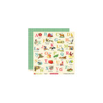 October Afternoon - Farm Girl Collection - 12 x 12 Double Sided Paper - Barnyard