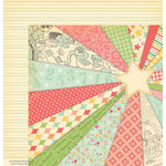 October Afternoon - Cakewalk Collection - 12 x 12 Double Sided Paper - Sugar Stix