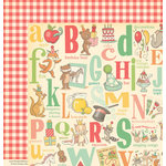 October Afternoon - Cakewalk Collection - 12 x 12 Double Sided Paper - Kazoo
