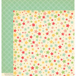 October Afternoon - Cakewalk Collection - 12 x 12 Double Sided Paper - Confetti