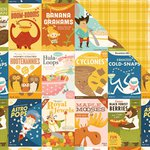 October Afternoon- Saturday Mornings Collection - 12 x 12 Double Sided Paper - Cereal