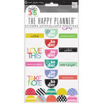 Me and My Big Ideas - Create 365 Collection - Stickers - 6 Sheets - Good Day Brights