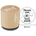 Woodies - Wood Mounted Rubber Stamp - Thank You Very Much