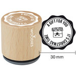 Woodies - Wood Mounted Rubber Stamp - A Gift For You
