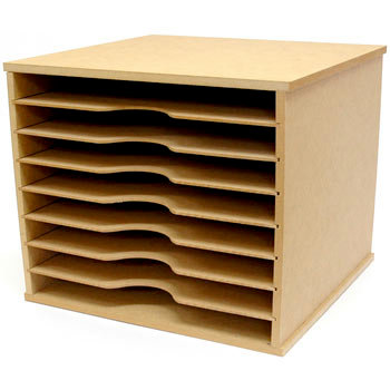 Kaisercraft - Beyond the Page Collection - Scrapbooking Paper Storage Unit